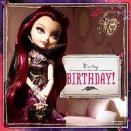 Facebook - Raven's birthday