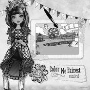Facebook - color me fairest contest