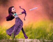 Facebook - Archery Raven Posed