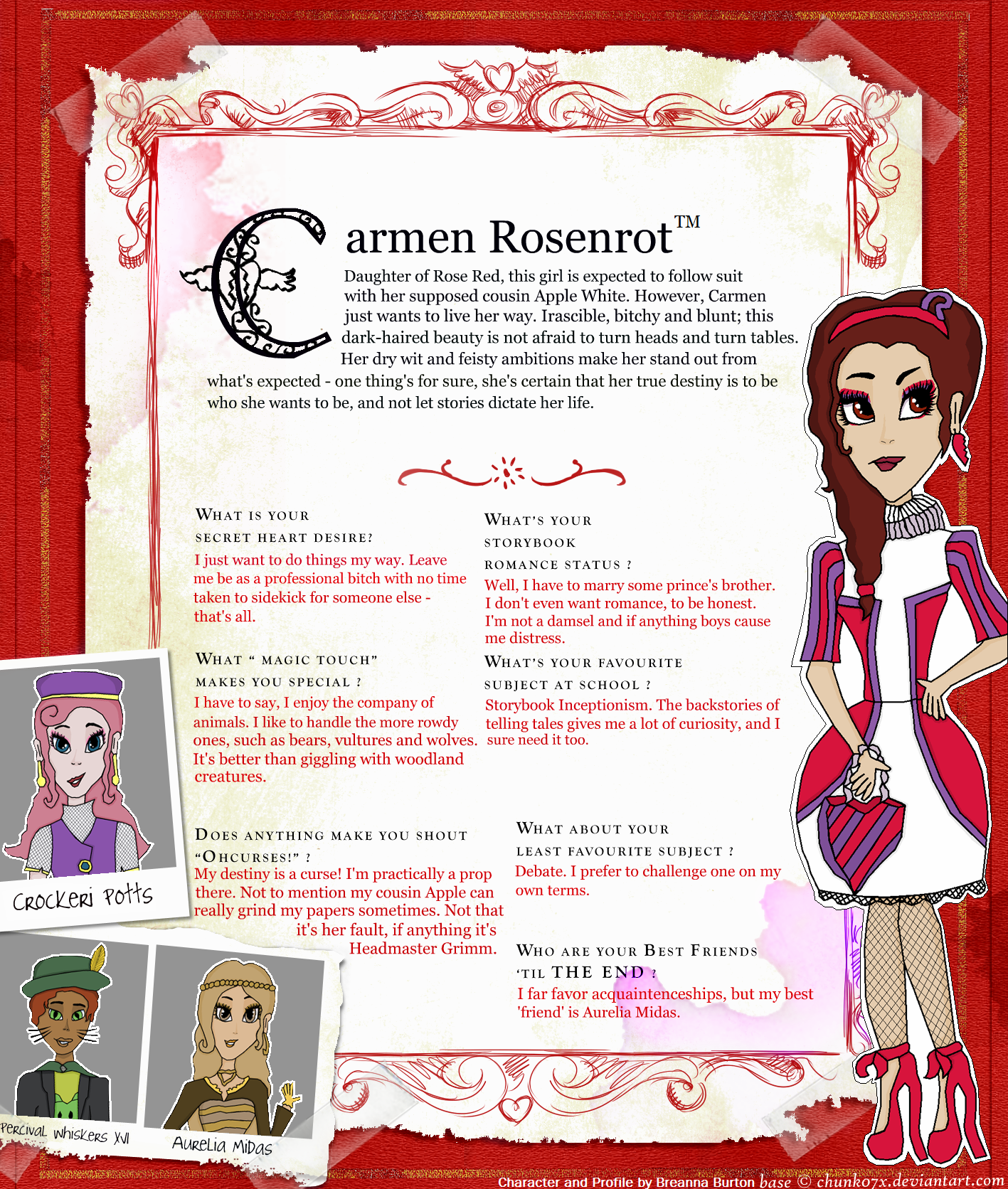 Image - Carmen Rosenrot - Box Profile.png | Ever After ...