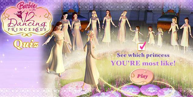 12 dancing princesses quiz everything barbie wiki - Barbie 12 princesse ...