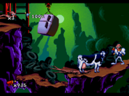 EarthwormJim MegaDrive cow