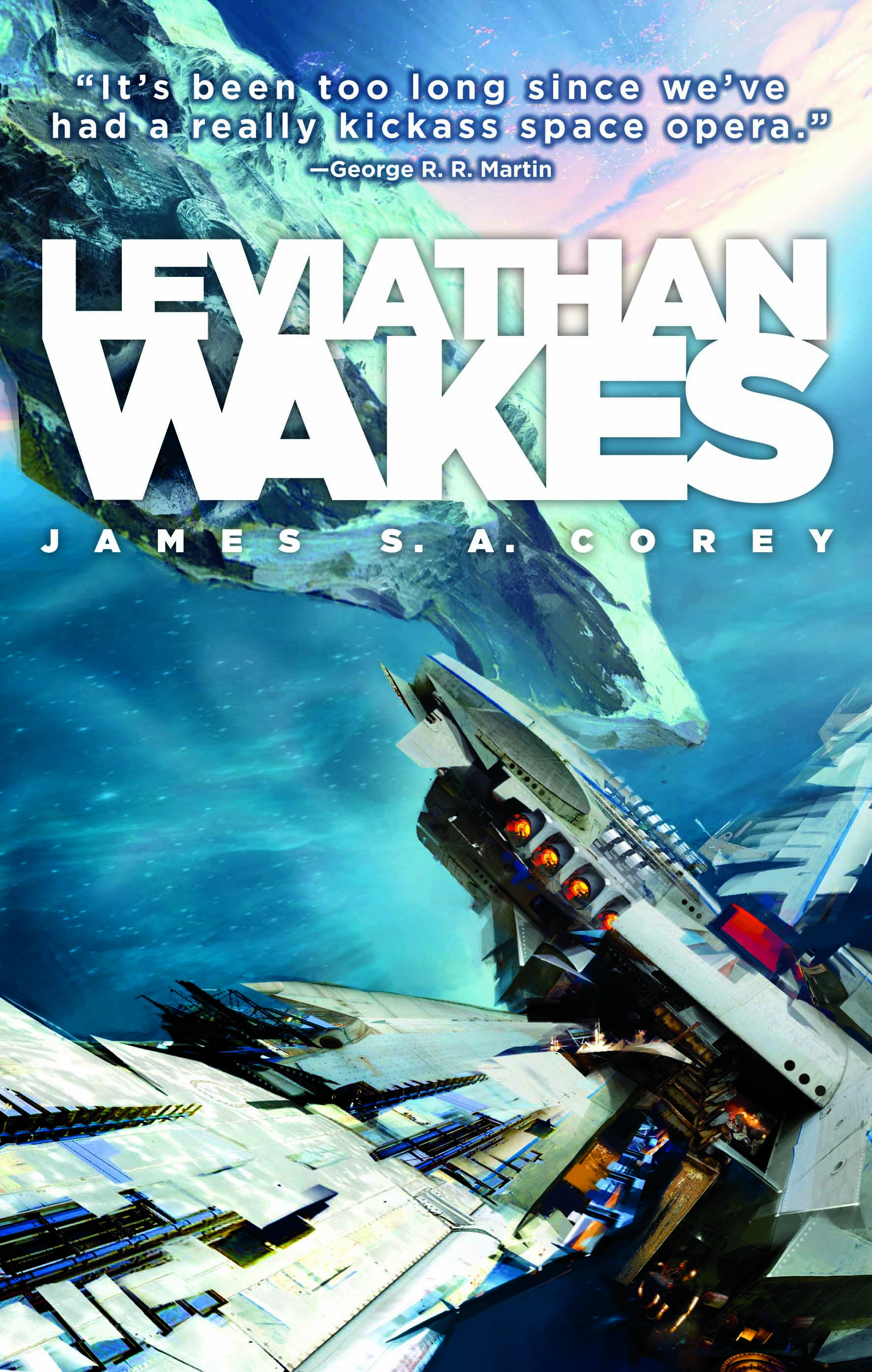 Cover Launch: LEVIATHAN WAKES - Orbit Books | Science Fiction ...
