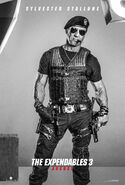 The Expendables 3 Barney Ross poster