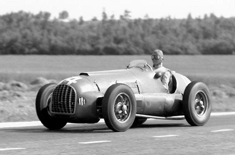 Bentuk mobil F1 tahun 1950