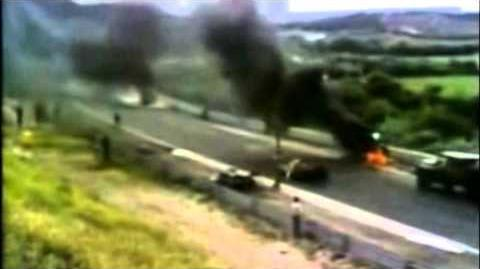 Roger Williamson Fatal Crash with Live Commentary (1973 Dutch Grand Prix)