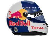Sebastian vettel helmet template by engineerjr-d4k6e69