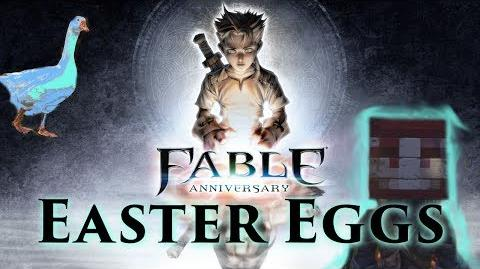 EASTER EGGS W Rated S - Fable Anniversary Sandgoose, Bad Words, Minecraft, and Secret Languages
