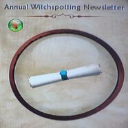 Annual Witchspotting Newsletter
