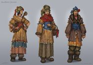 Fable 3 Female Dweller concept