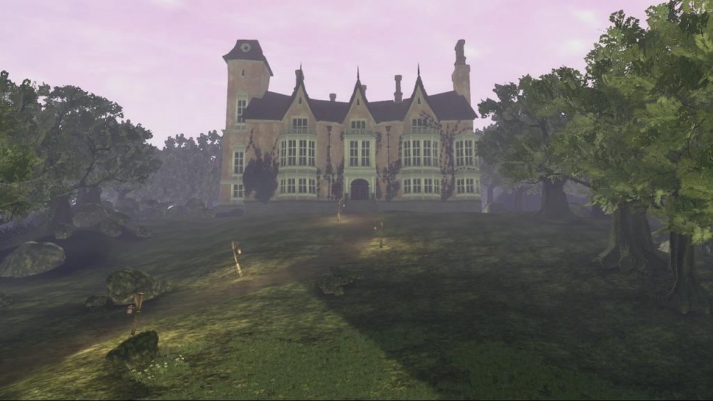 how to get to sunset house fable 3