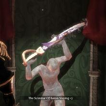 The Scimitar of Baron Slaying 3