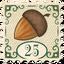 Stamp Smallest Acorn