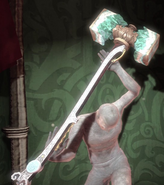 Faerie Hammer of the Moon King