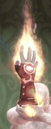 Zw-Fire Spell Gauntlet