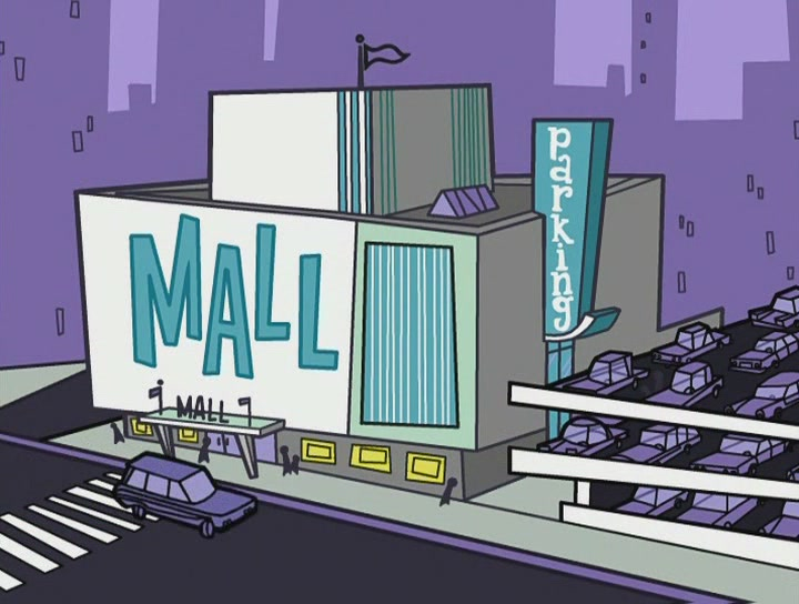Dimmsdale_Mall on Fairly Oddparents Characters