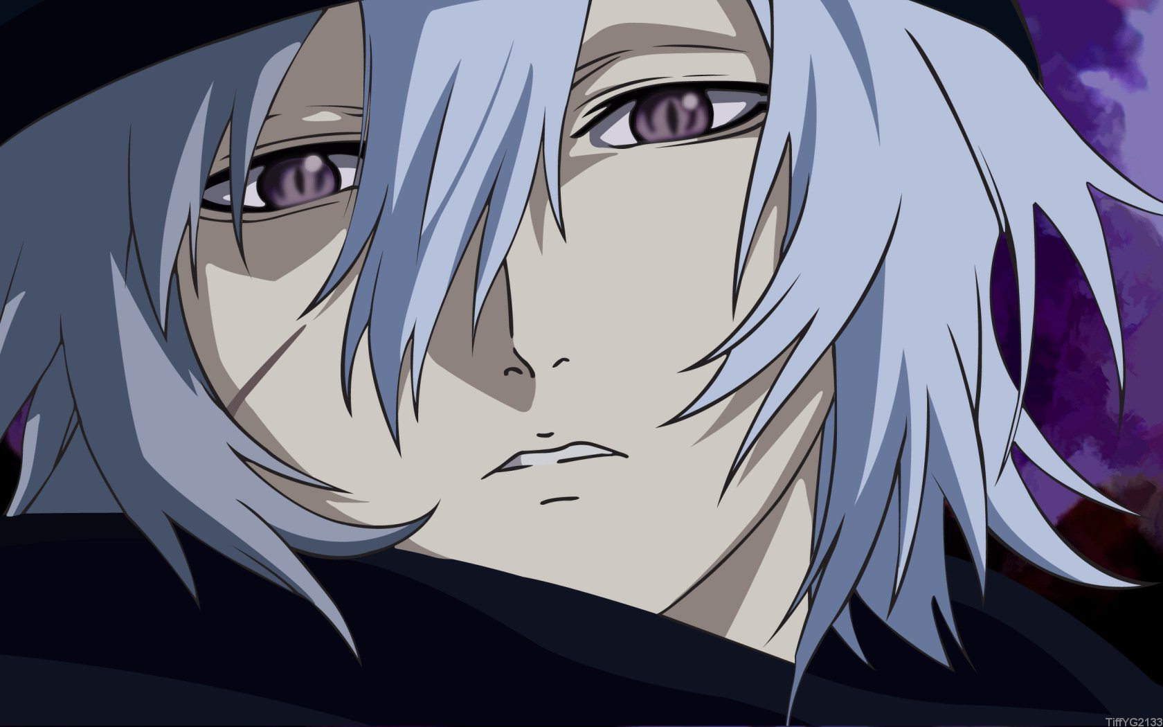 Image - White-hair-purple-eyes-anime-boy.jpg | Fairy Tail ...