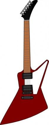 File:Gibson explorer guitar clip art 12459.jpg