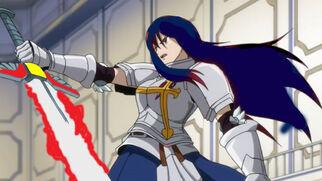 Erza's sword