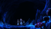 Dragon Slayers going to Dragon Graveyard.png
