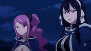 Meredy and Ultear discuss Future Lucy