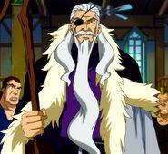 Precht as Fairy Tail's master