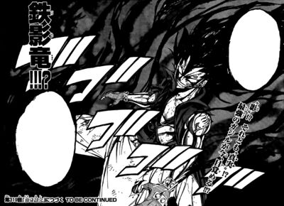 Iron Shadow Dragon Gajeel