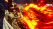 Natsu rushes towards Rogue