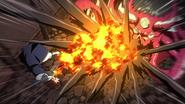 Natsu clashes with Kanaloa