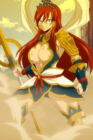 Erza's Nakagami Armor