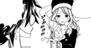 Juvia offers some water to Gray