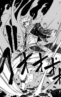 Natsu in Fire Dragon King Mode