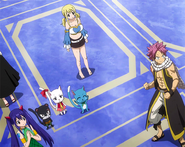 Team Natsu learns of the way to defeat the dragons