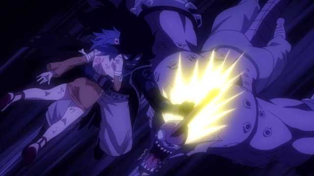 File:Gajeel hits the Demon.png