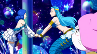 Juvia and Aquarius become friends
