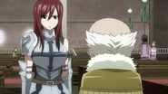 Erza reports about Minerva