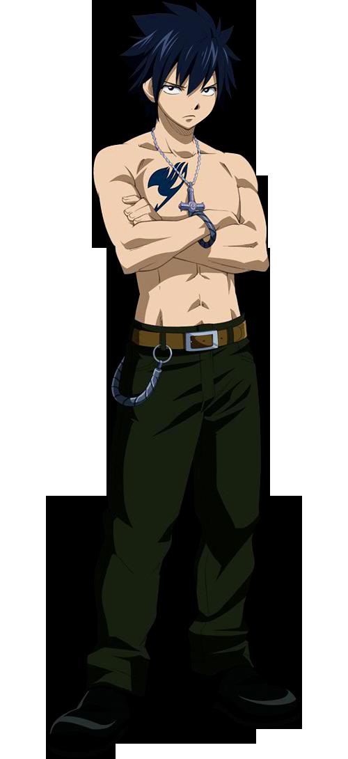 Gray Fullbuster Manga Boxer Gray Fullbuster