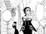 Juvia and Lucy looking for Natsu
