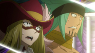The reaction of Rufus and Orga