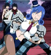 Edolas Juvia fight