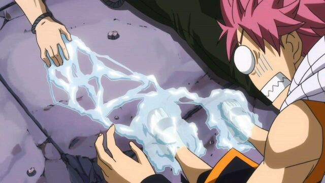 File:Natsu trapped by Gray's ice.JPG
