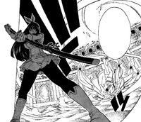 Kagura Defeating Yukino