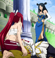 Erza faces Minerva