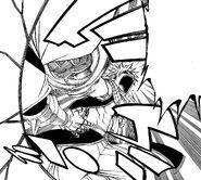 Natsu Defeating Kama