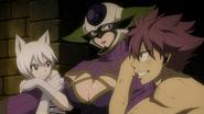 Natsu and Lisanna capture Kyôka