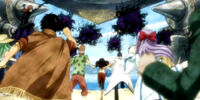 Fairy Tail vs. Jose's Shades