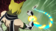 Lucy's whip against Jackal