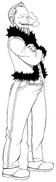Wakaba's Post-Timeskip appearance