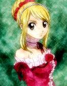 Lucy Heartfilia in dress