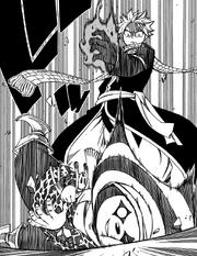 Natsu defeats Abel